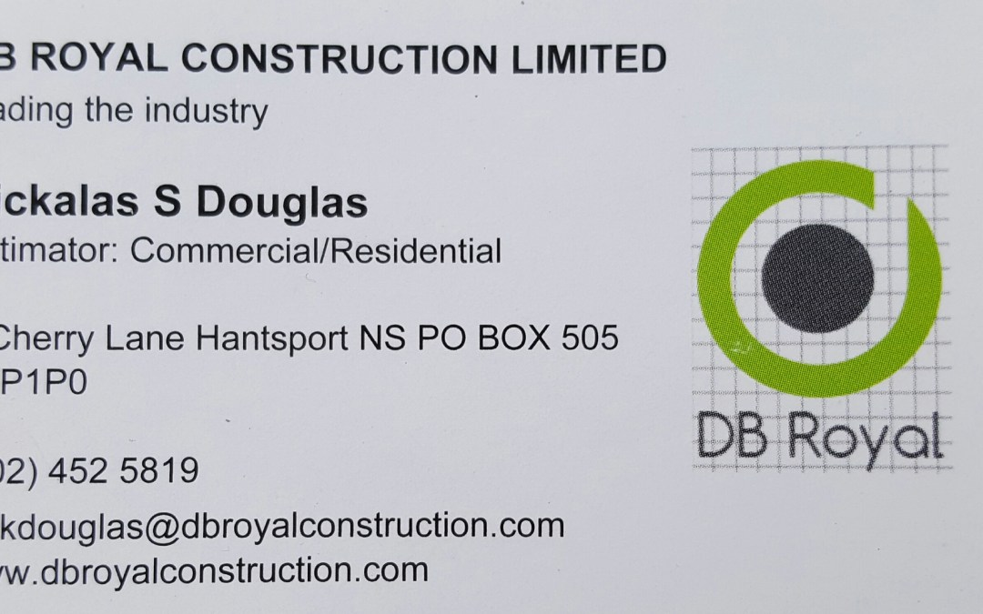 DB Royal Contracting Ltd. Bronze Sponsor