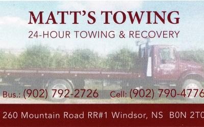 Matt's Towing