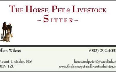 The Horse, Pet and Livestock Sitter