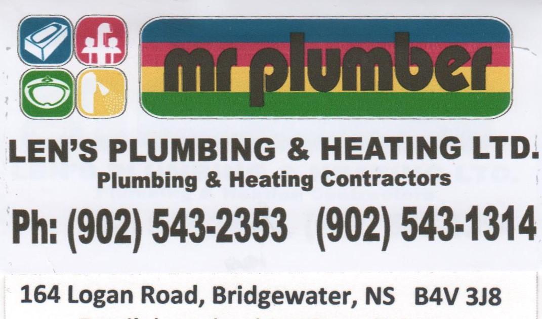 Bronze Sponsor – Len's Plumbing and Heating, Bridgewater