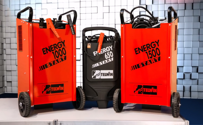 Battery Charger and Starter - Energy 1000 Start a