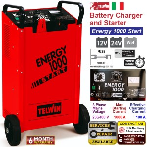 Battery Charger and Starter – Energy 1000 Start