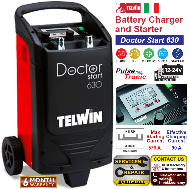 Battery Charger and Starter - Doctor Start 630