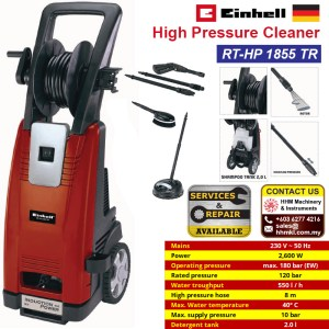High Pressure Cleaner RT-HP 1855 TR
