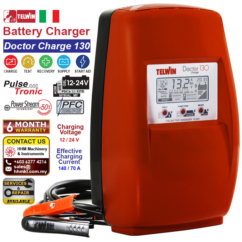 Battery Charger - Doctor Charge 130