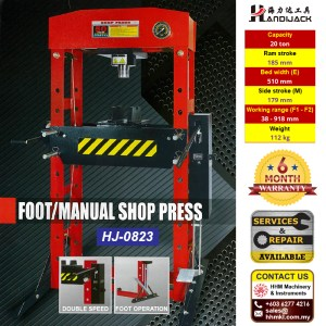 Foot Manual Shop Press HJ-0823