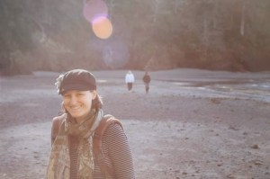 h on beach