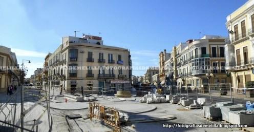 Recreación plaza Héroes de España