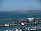 Bocana puerto Melilla y Benienzar