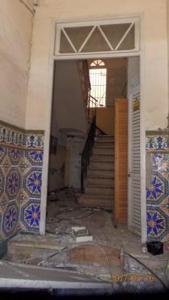 Escaleras, edificio Enrique Nieto