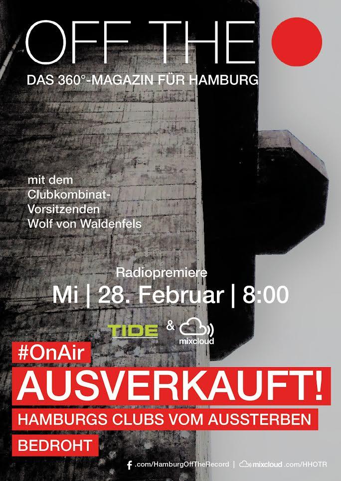 Wolf von Waldenfels Clubkombinat Ausverkauft Hamburgs Clubs vom Aussterben bedroht HHOTR Podcast #19