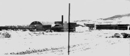 Photograph of Helena High as it appeared while being built in 1955.