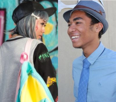 Students fashionably showcase individuality