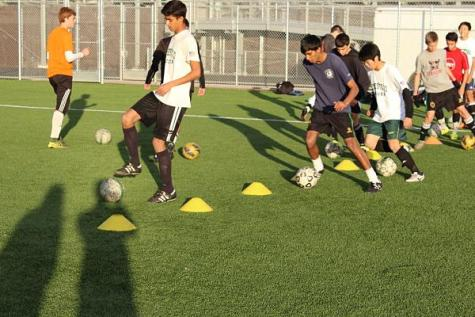 Boys varsity soccer prepares for upcoming season