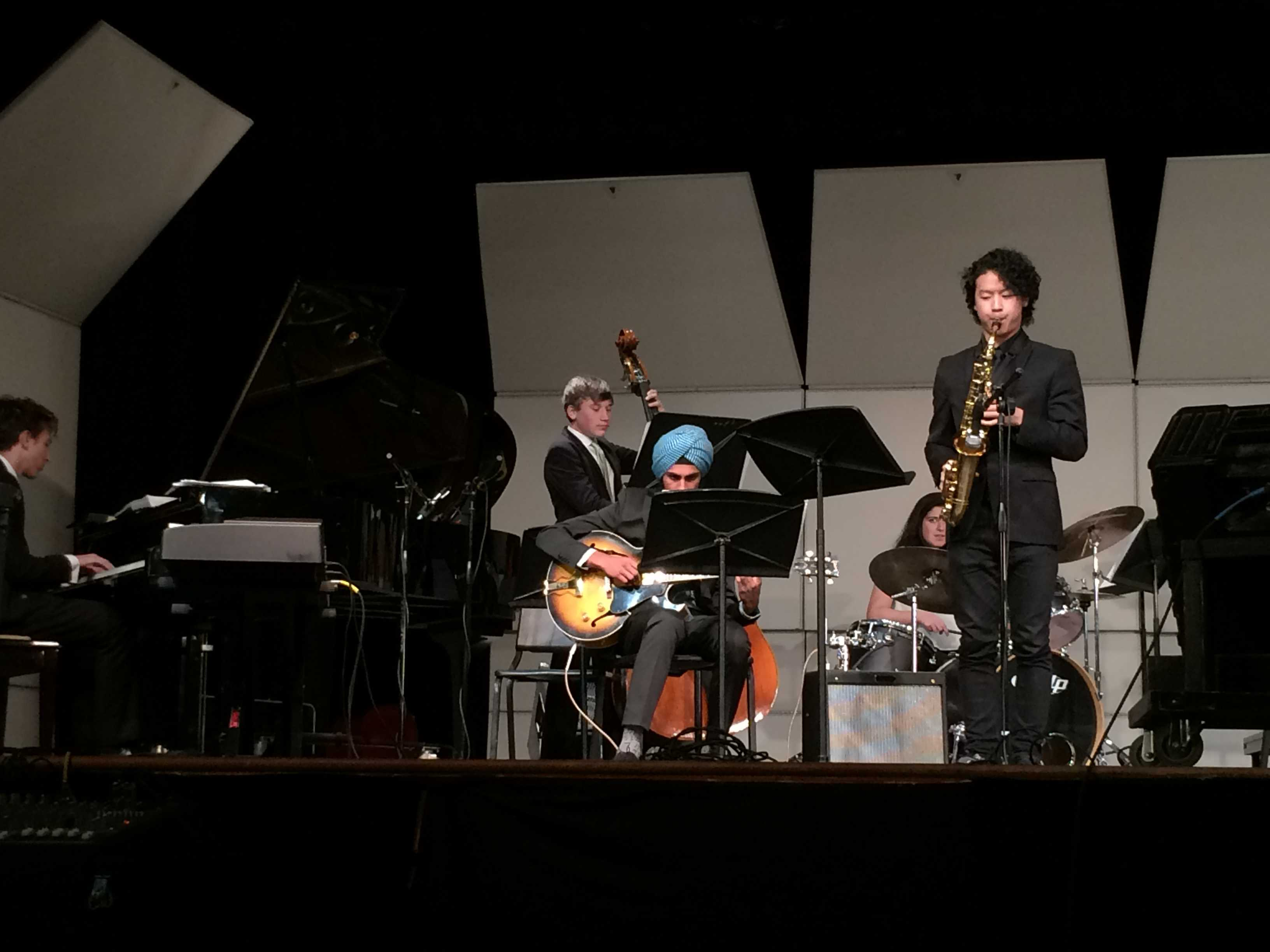Jazz spring show, a showcase of talent