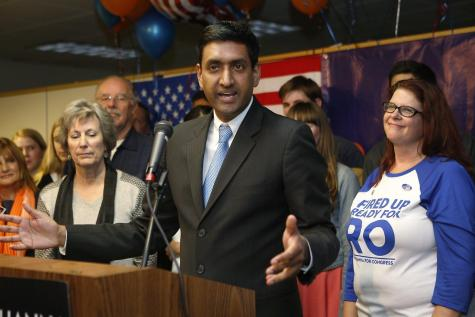 Rep-elect Ro Khanna emerges victorious with plans to reform education