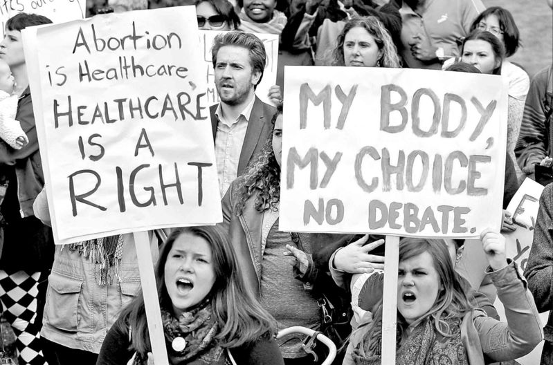 Image result for choice protesters