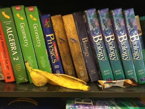 Food in the library a growing issue