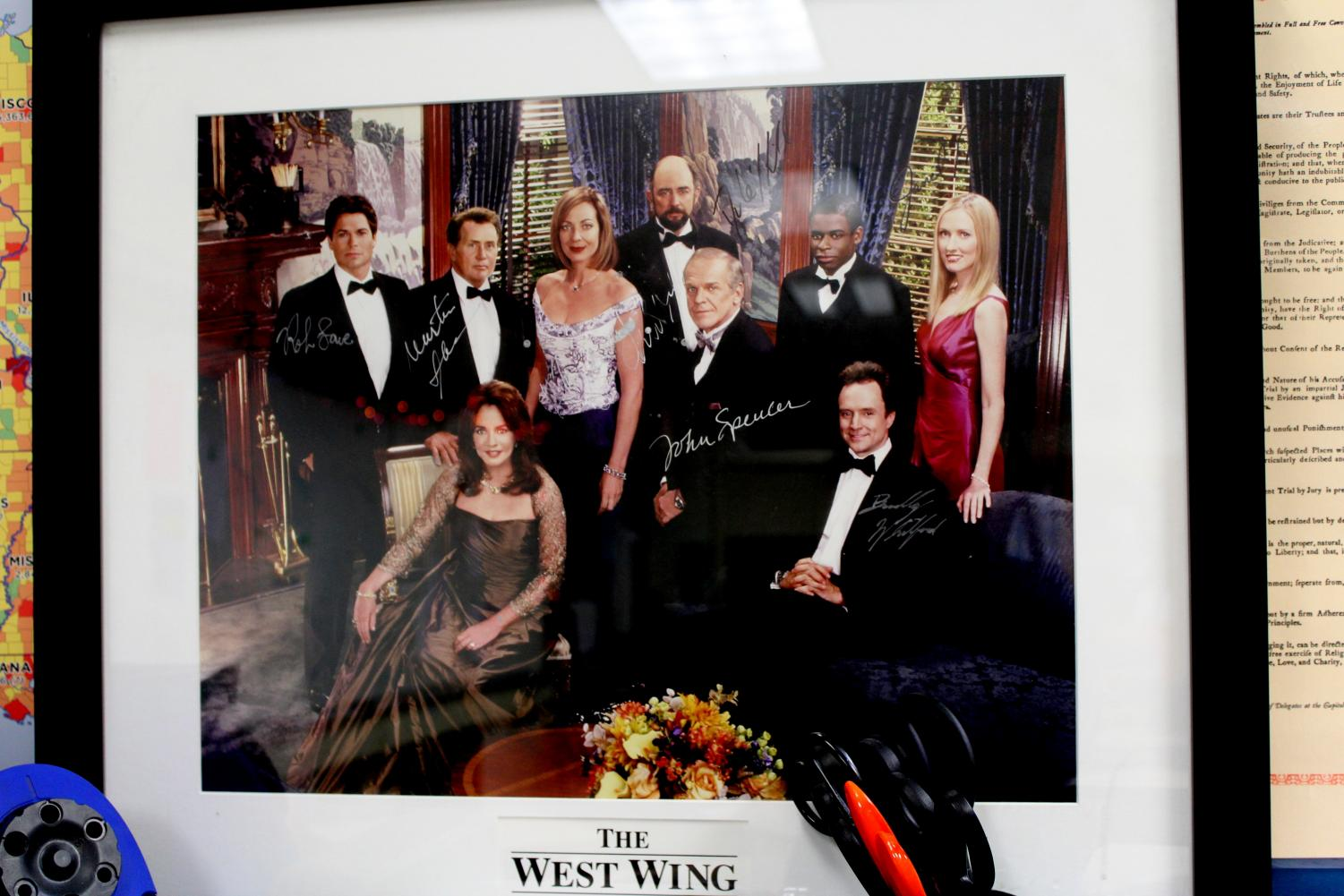 %E2%80%9C%E2%80%98West+Wing%E2%80%99+is+like+the+best+TV+show+ever%2C+and+then+a+student+of+mine+one+year+went+to+Goodwill%2C+and+they+were+selling+it.+So+on+the+back%2C+I+made+him+sign+it+for+me.+He+brought+it+in+one+day+and+had+paid+like+three+bucks+for+it.%E2%80%9D+-Christy+Heaton