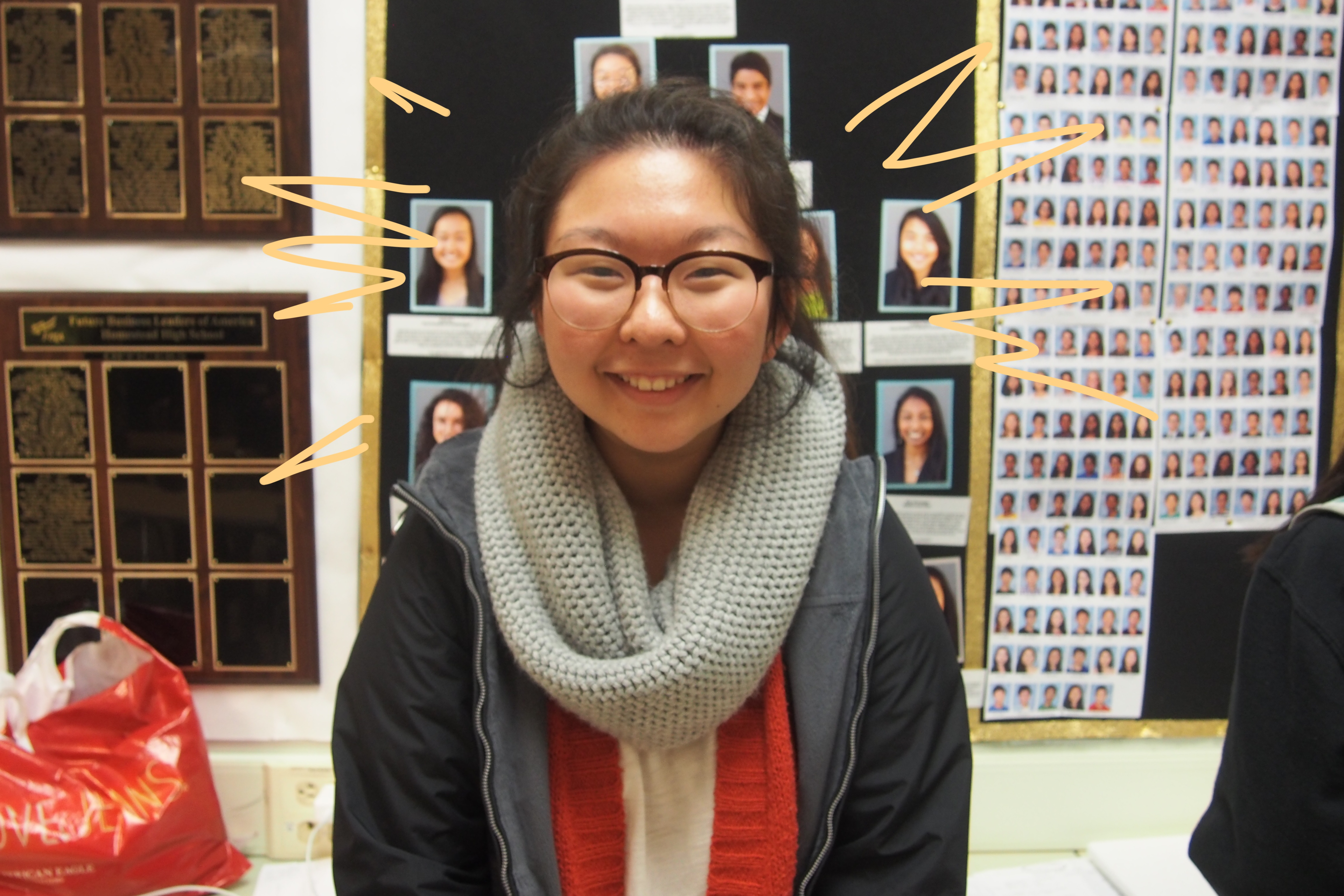 """Senior Grace Kim said she is looking forward to attending a four-year college while majoring in either business or computer science. Kim said she has advice for new FBLA members. """"Take advantage of all the opportunities that you have around, especially in FBLA,"""" Kim said. """"I really, really got involved in my freshman year and kept up with it and I grew to love what FBLA has to offer and all the relationships I was able to build. Take advantage of those and make the most out of your high school experience."""""""