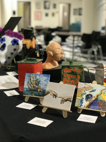 District art show displays student creativity