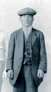 Togo Takamatsu as a young man in Vancouver, ca. 1910. (Vera Mattson Family Collection)