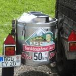 Bergbauern Milch