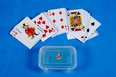 Playing Cards in pure plastic