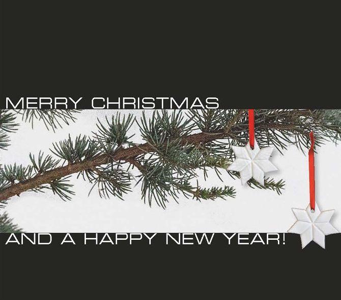 Billede af julekort