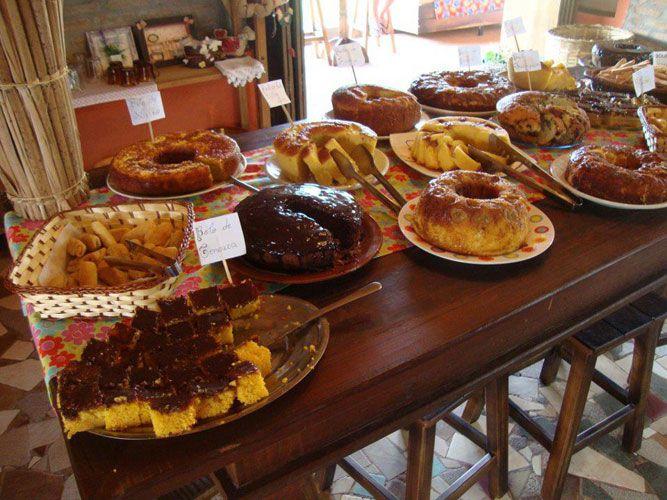 Café da manhã na roça, em Ipiguá, SP
