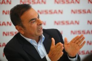 Carlos Ghosn, presidente mundial e CEO da Nissan Motor