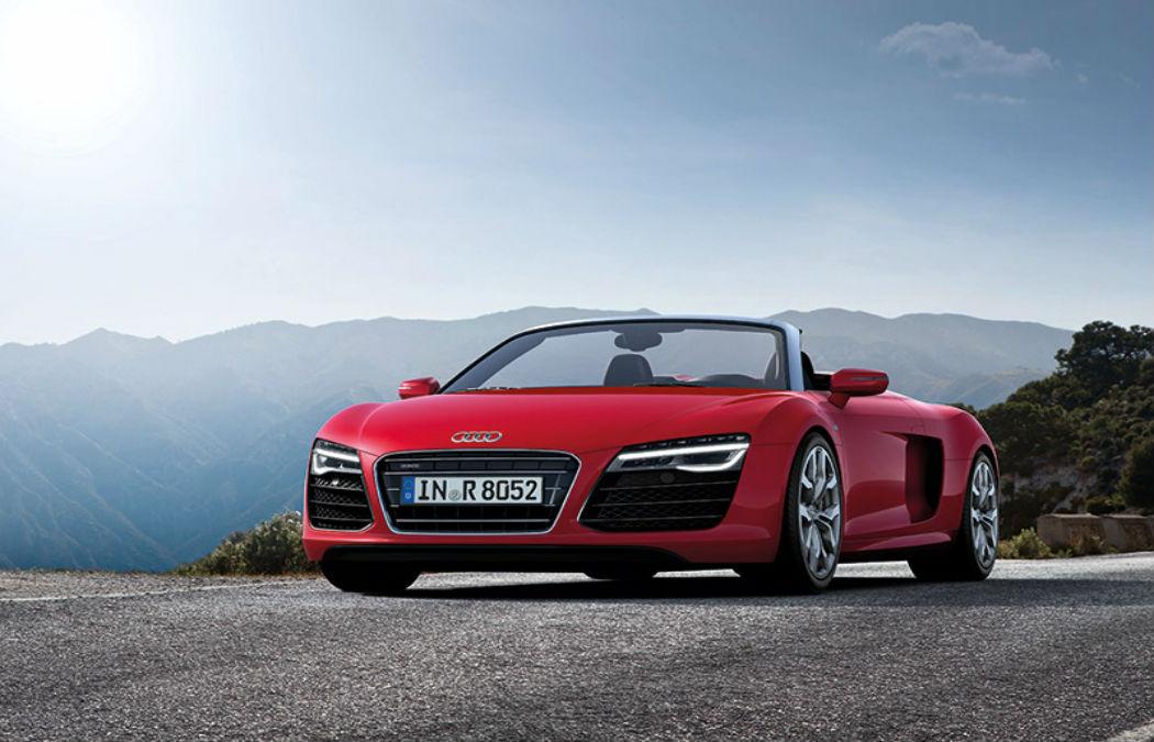 Os Audis de Christian Grey em 50 tons de Cinza