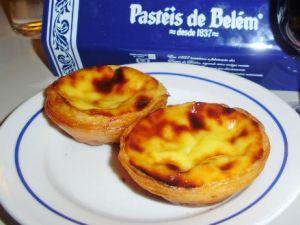 Hum..os deliciosos pastéis de Belém em Lisboa