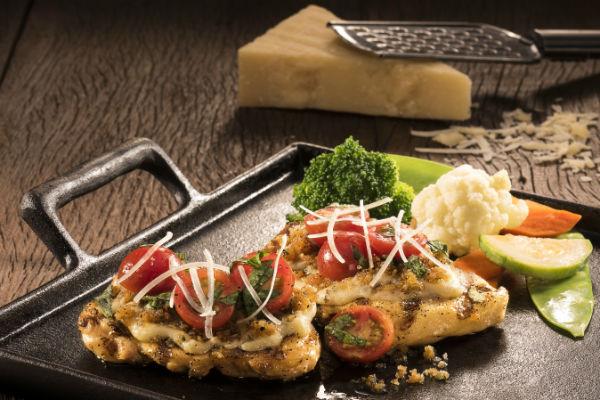Boneless Parmesan Crusted Chicken