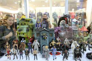 Exposição reúne brinquedos raros e curiosos