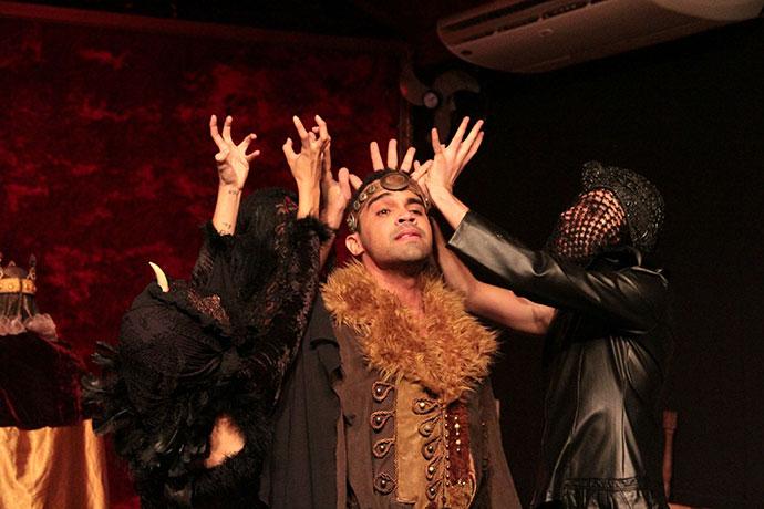 Cena de Shakesperiana. Foto: Fernando Stefanini