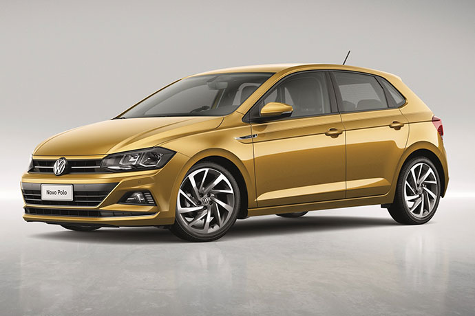 Novo Polo da Volkswagen foi apresentado