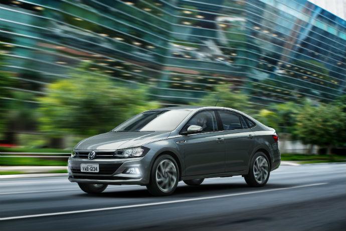 Volkswagen faz world première do sedã Virtus