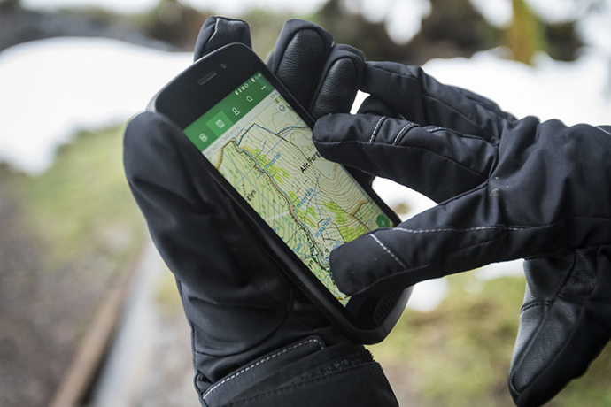 Smartphone ultraresistente da Land Rover
