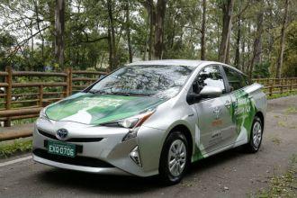 Protótipo de veículo híbrido flex apresentado pela Toyota