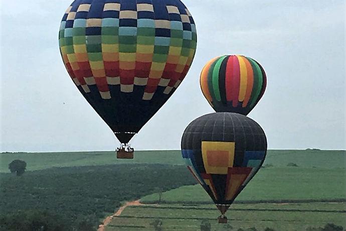 Passeio de balão é nova atração em Brotas, SP