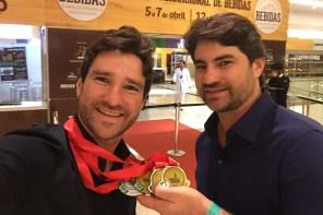 Dom Tapparo ganha três ouros em concurso mundial