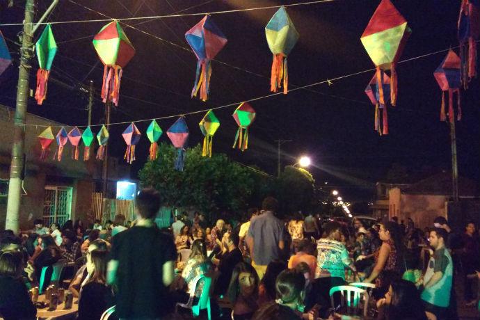 Festa Junina do Centro Cultural Vasco já é uma das mais tradicionais de Rio Preto (Foto: Hi-Mundim)