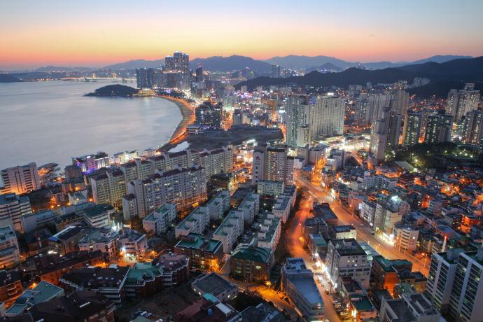 Busan, na Coreia do Sul - Ásia