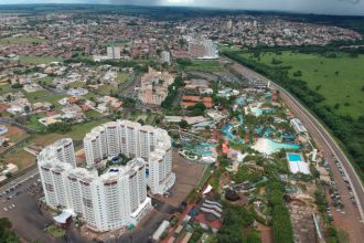 Vista geral da cidade de Olímpia, SP (Foto: Divulgação / Secretaria de Turismo)