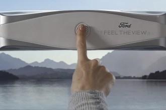 Ford cria Janela inteligente