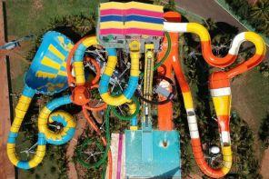 Olímpia: Thermas inaugura complexo de toboáguas