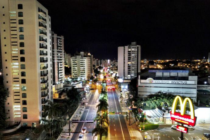 Avenida Alberto Andaló (Foto: Guilherme Baffi)