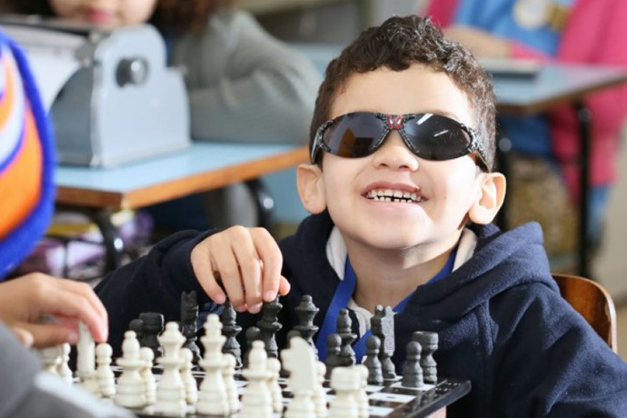 Instituto dos Cegos Trabalhadores (Foto: Ricardo Boni)