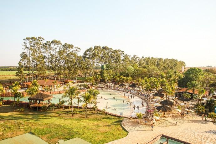 Parque aquático em Barretos (Foto: Divulgação)